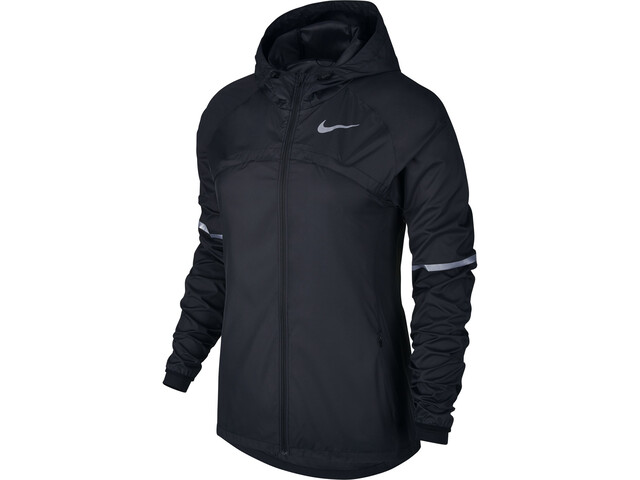 competitive price cfabe b6ac2 Nike Shield Löparjacka Dam svart